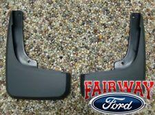 2008 2009 2010 2011 2012 Escape OEM Ford Molded Splash Guards Mud Flaps FRONT