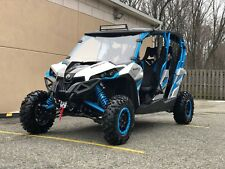 2017 CAN AM MAVERICK 1000R MAX X DS TURBO,FOX SUSPENSION ,POWER STEE,RADIO,ROOF