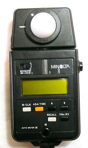 Minolta Auto Meter III MINT- #37007