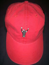 """Bob's Victory Grille"" Ball cap, Red with black embroidery, NEW"