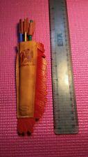 Vintage pencil quiver pencil arrows