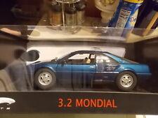 VERY RARE Ferrari Mondial 3.2 in Blue by Hot Wheels Elite