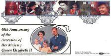 1992 Feliz & gloriosa (adhesión) - Benham blcs 72 (Windsor Castle) Oficial