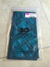 Thirty One (31) Scarf ~ Jade PLAID (Cotton) RETIRED New!