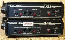 Teltone TLS 3 Telphone Line Simulator powers on