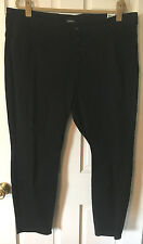 Womens Size 22 Joe Boxer Black Button Fly Denim Distressed Jeans - New w/Tags!