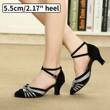 Womens Salsa Latin Dance Dancing Shoes Shoes Pointed Toe Shoes Elegant Sandals