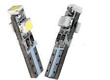 6 x Bombillas LED T5 3528 1210 3SMD Posicion Bombilla Blanco SALPICADERO puerta