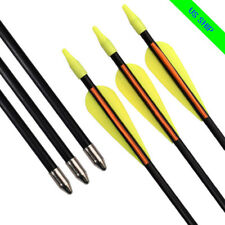 "6X 26"" Archery Arrow Youths Arrow Recurve Bows Target Shooting Practice"
