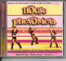 CD COMPIL 18 TITRES--HOUSE PHENOMENA--VAN HELDEN/AMIRA/THE FAMILY/MOREL/MILES...