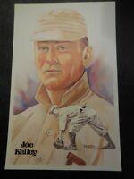 1980 Perez Steele Set Postcard Joe Kelley 5th Series #123 9968/10000
