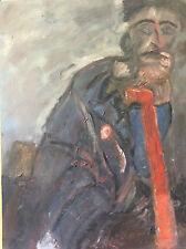 Expressionniste expressionnisme sur contre-plaqué deuxième moitié XXe anonyme