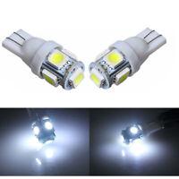 2x 6000K Xénon Blanc T10 921 Intérieur/licence Assiette SMD Lumière Ampoules LED