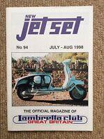 JET SET 94 Scooter Magazine LAMBRETTA LI125 LI150 GP150 TV175 Innocenti MODS