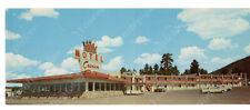 ad1-F  Postcard Crown Motel / Restaurant ROUTE 66 Rte Flagstaff AZ Bradshaw 194a