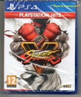 Street Fighter V (5)  'New & Sealed'   *PS4(Four)*