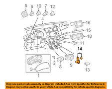 TOYOTA OEM 10-13 Highlander Instrument Panel Dash-Socket Cover 855350C040C0