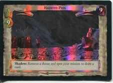 Lord Of The Rings Foil CCG Card RotK 7.U361 Haunted Pass
