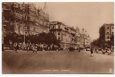 Vintage Tuck Postcard Hornby Road Bombay India Streetview Photogravure
