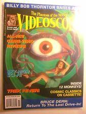 VIDEOSCOPE Magazine #23 Summer 1997 - 12 Monkeys, Billy Bob Thornton, Trek (New)