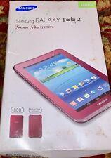 Samsung Galaxy Tab 2 7.0 Garnet Red Edition Bonus Case Included