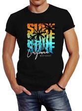 Señores t-shirt verano surf California palmeras slim fit neverless ®