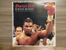 """Status Quo – Burning Bridges (On & Off & On Again) Vinyl 12"""" UK 1988   QUO 2512"""