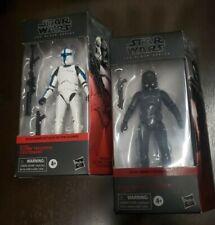 """Star Wars Black Series 6"""" Walgreens Exclusive Clone Trooper Lt Elite Squad Troop"""
