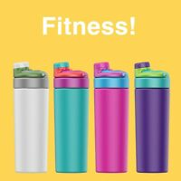 3 Mixed Color 23OZ Vacuum-Insulated Sport Stainless Steel Water Bottle(4 colors)
