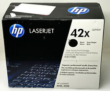 Genuine HP 42X Print Cartridge Black Q5942X For 4250 4350 Black Box New