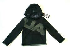 NWT Under Armour UA Artillery Green Boys XS Pullover Hoodie
