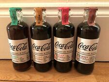 Coca-Cola 2019 Signature Mixers Set of 4 Glass Bottles 200ml. UK IN STOCK