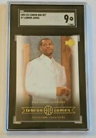 2003 UD LEBRON BOX SET #7 LEBRON JAMES SGC 9 LN
