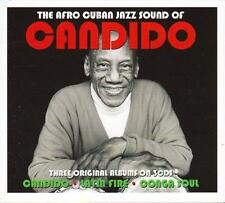 CANDIDO - THE AFRO CUBAN JAZZ SOUND OF (NEW SEALED 3CD)