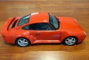 Porsche 959  1986 (Red) Autoart Millennium 1:18 Scale - Porsche Museum