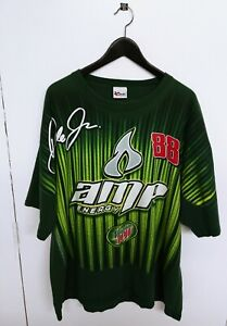 2008 Nascar Dale Earnhardt Jr All Over Print Amp Energy Chevy Racing Size (2XL)