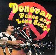 Donovan : Peace & Love Songs CD