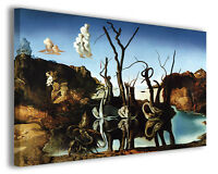 Quadri famosi Salvador Dali' vol I Stampa su tela arredo moderno arte design