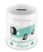 Campervan Fund Money Box - Samba bus Savings Gift Idea hippy repair hobby #61
