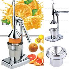 Manual Hand Press Orange Juicer Lemon Juice Fruit Squeezer Extractor Kitchen US