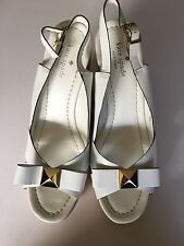 RARE Kate Spade Devi Wedges White Size 9.5