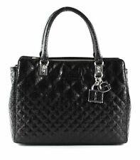 GUESS Queenie Luxury Satchel Schultertasche Tasche Black Schwarz Neu