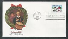 # 2400 CHRISTMAS SNOW SCENE 1988 Fleetwood First Day Covers