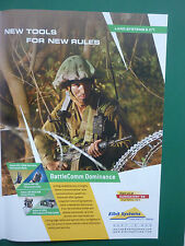 6/2008 PUB ELBIT SYSTEMS ISRAEL TADIRAN TACTICAL IP HF RADIOS ORIGINAL AD