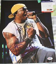LL Cool J signed 11 x 14, Rap, Im Bad, I Need Love, Def Jam, PSA/DNA, COA