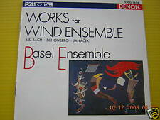 CD BASEL ENSEMBLE WORKS FOR WIND WNSEMBLE PRESS JAPAN