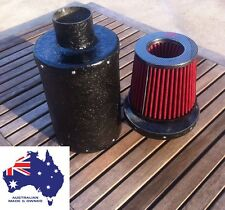 "Universal In Line 3"" Pod Filter Ram Cold Air  Box 4wd Dune Buggy Australian Made"