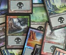 1x foil Swamp/pantano! Magic the Gathering Basic país