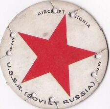 1930's M30 Aircraft Insignia St. Louis Seal Craft Disk Soviet Union #10