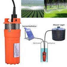 Solarbetriebene DC 12V  Wasserpumpe Tauchwasser Pumpe Tiefbrunnenpumpe 6.5L//min